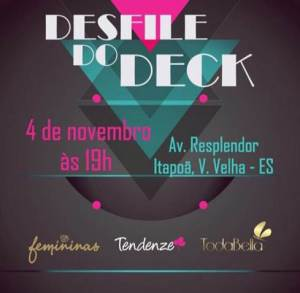 Desfile no Deck